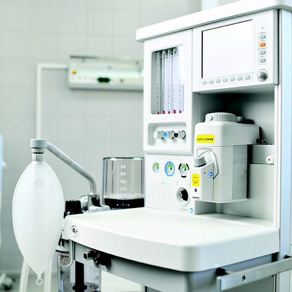Biomedical equipment in the hospital being repaired and maintained
