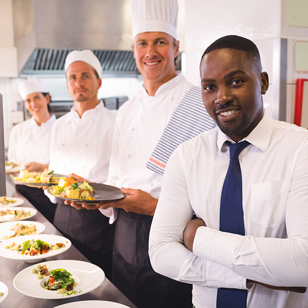 Chef/Head Cook managing all aspects of kitchen operations